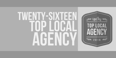 Top Local Digital Marketing Agency Badge 2016 Greyscale